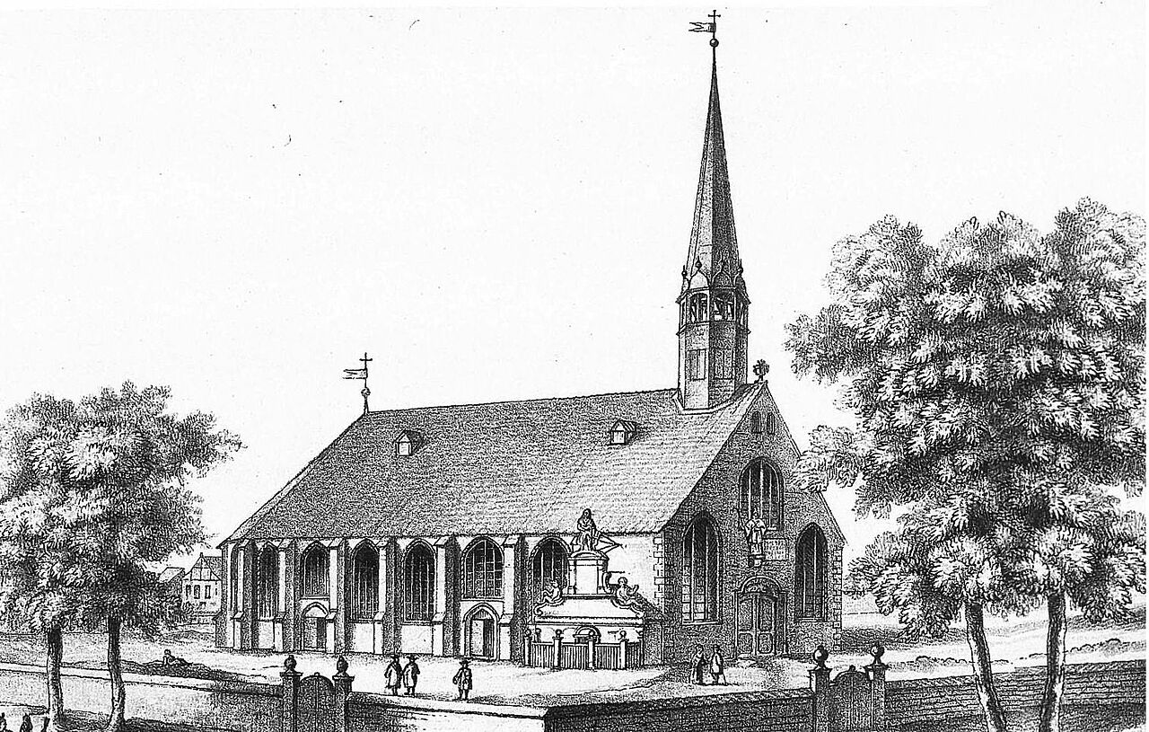 Ca. 1600: First St. Michael's chapel